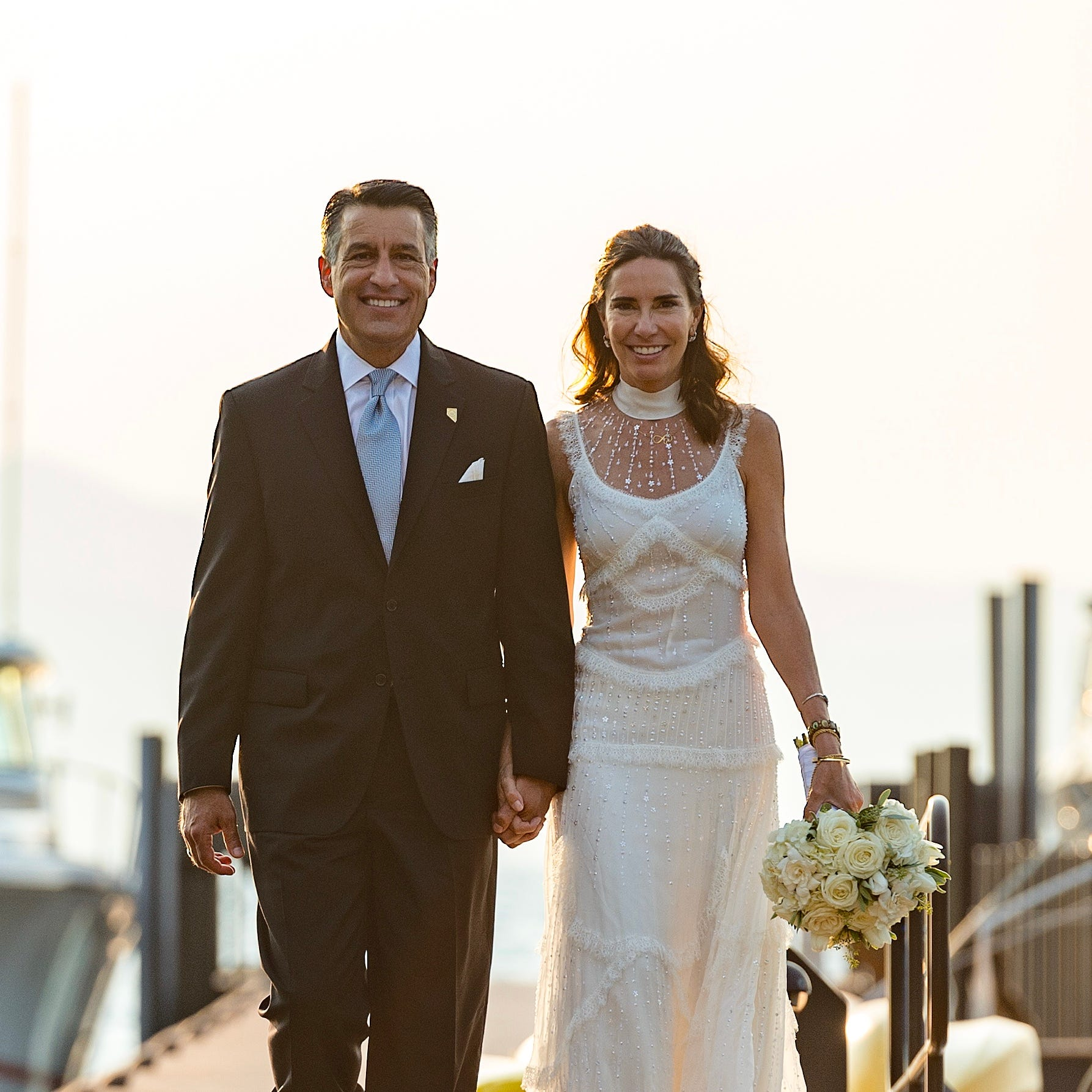 Gov. Sandoval, McCarthy marry at Lake Tahoe