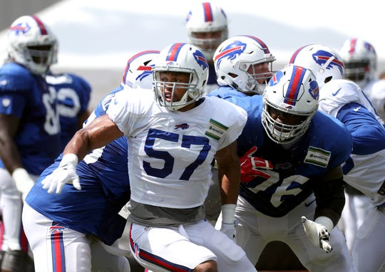 "Bills defensive captain Lorenzo Alexander: "" I think everybody feels last year was a fluke and it's up to us in this locker room, coaches included, to put in the work and prove everybody wrong.''"