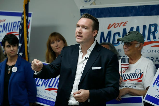 Nate McMurray, the Democrat who is running in the 27th Congressional District, is a tight race against incumbent GOP Rep. Chris Collins, a new poll showed.