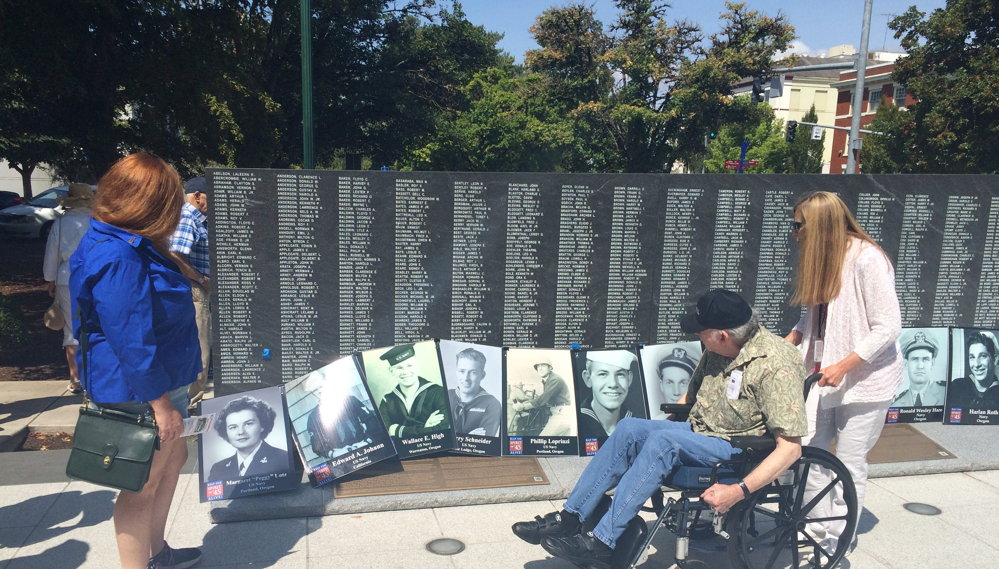 'Spirit of '45 Day' remembers, honors World War II veterans in Salem