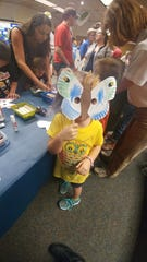 All sorts of activities for children will be going on during Insect-O-Rama.