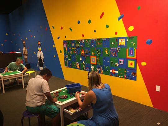 The History Colorado Center in downtown Denver has four floors, and the top floor was odd but family-friendly: one section houses a Lego exhibit of Colorado and there are Lego stations where kids can build.