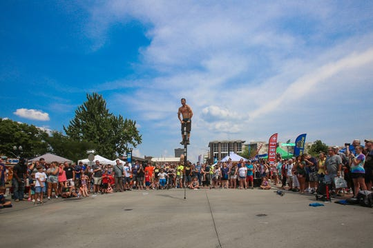 Pogo Fred will be back at the Birthplace of Route 66 Festival to entertain the crowds.