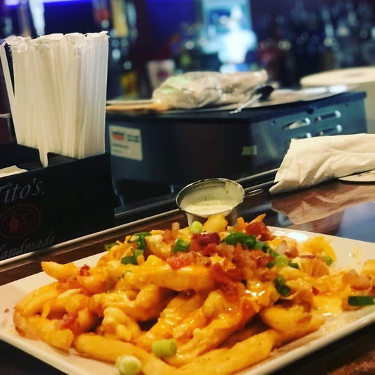 Try the loaded fries at Georgia Mac's. The cheese sauce has six different cheeses and is the same sauce used on the macaroni and cheese.