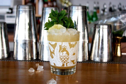 Get your girls over to Golden Girl Rum Club for some gorgeous fruity cocktails.