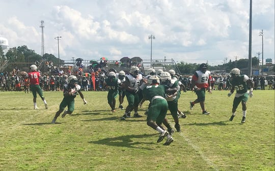 FAMU offensive series showcasing the ground game.