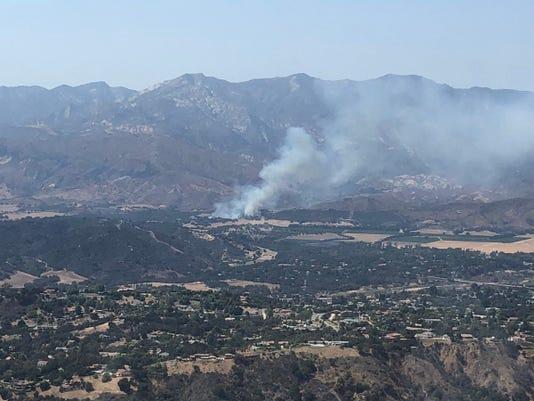 Casitas incident air image