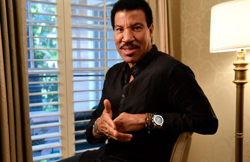 Multiple Grammy-winning singer/songwriter Lionel Richie. Portrait shot at the Beverly Hills Hotel.