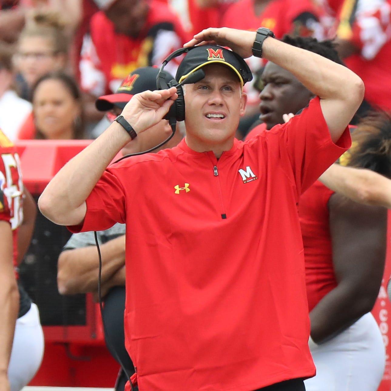 Maryland coach DJ Durkin