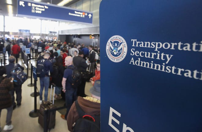 Transportation Security Administration checkpoint