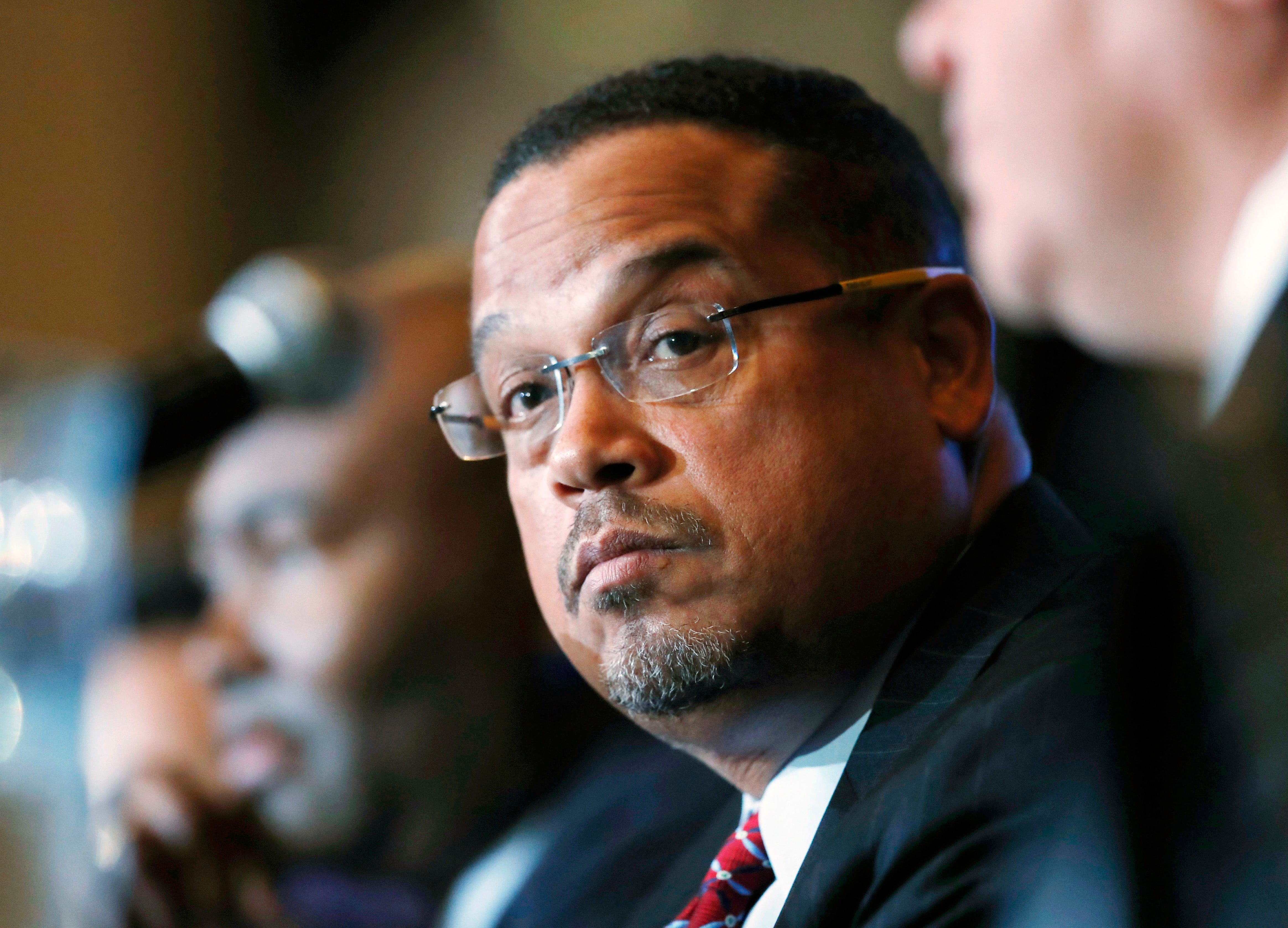 Rep. Keith Ellison denies abuse allegations from ex-girlfriend days before Minnesota primary