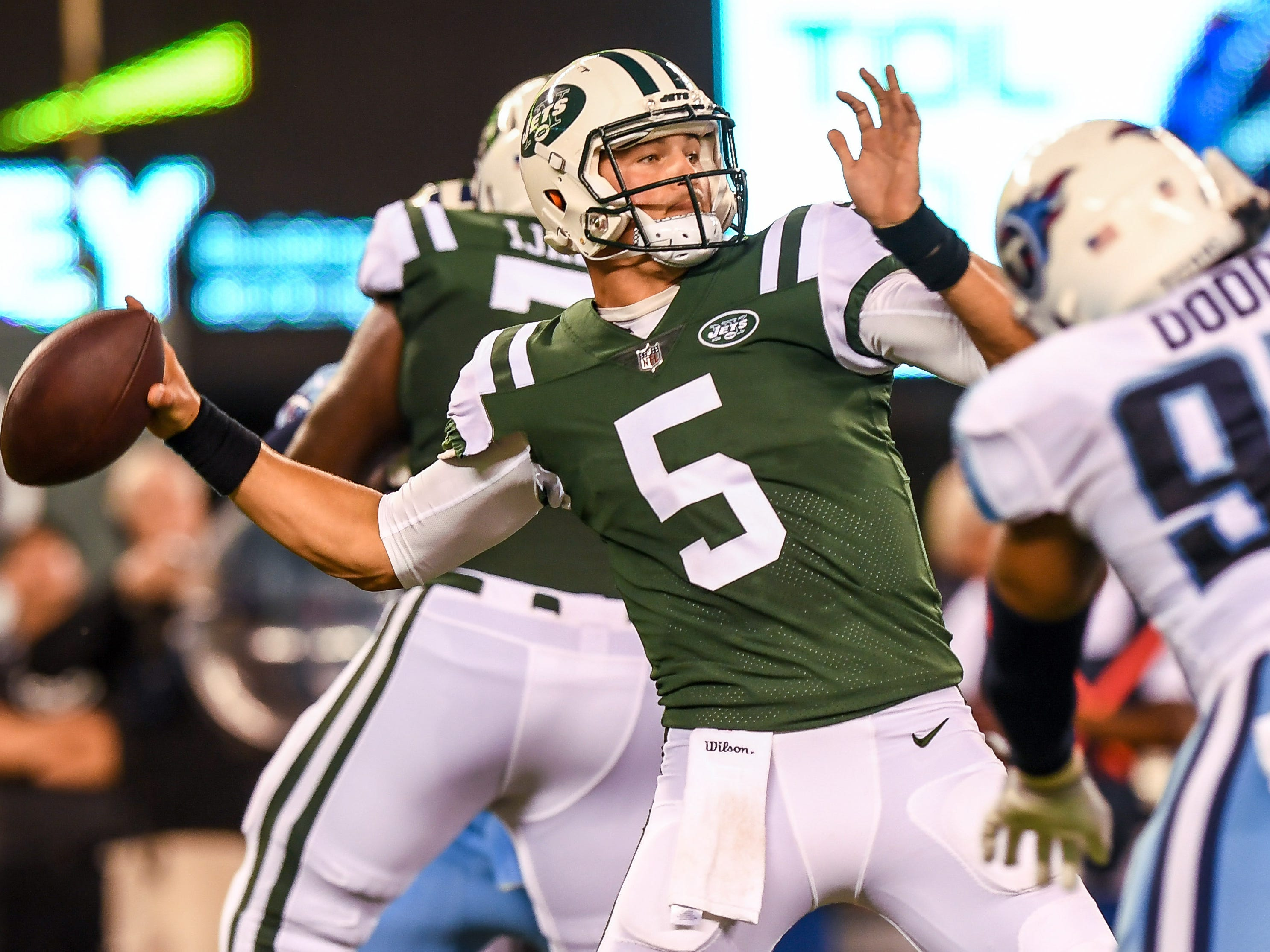 Christian Hackenberg was released by the New York Jets after last season.