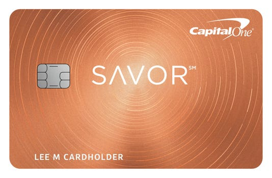 Capital one offers incentives with new savor card capital one savor reheart