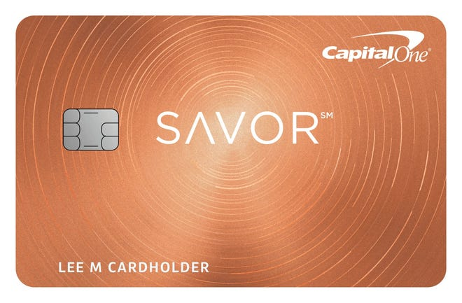 Capital One's new Savor card offers unlimited 4 percent cash back on dining and entertainment.