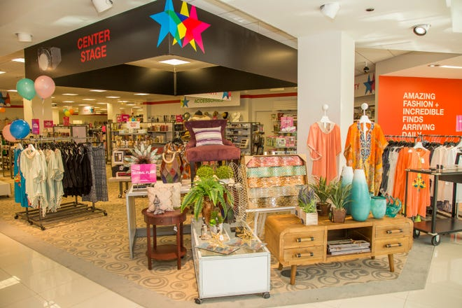 Macy's Backstage will open September 15 inside Macy's at the Fox River Mall in Grand Chute. Shown here, a Macy's Backstage location in Florida.
