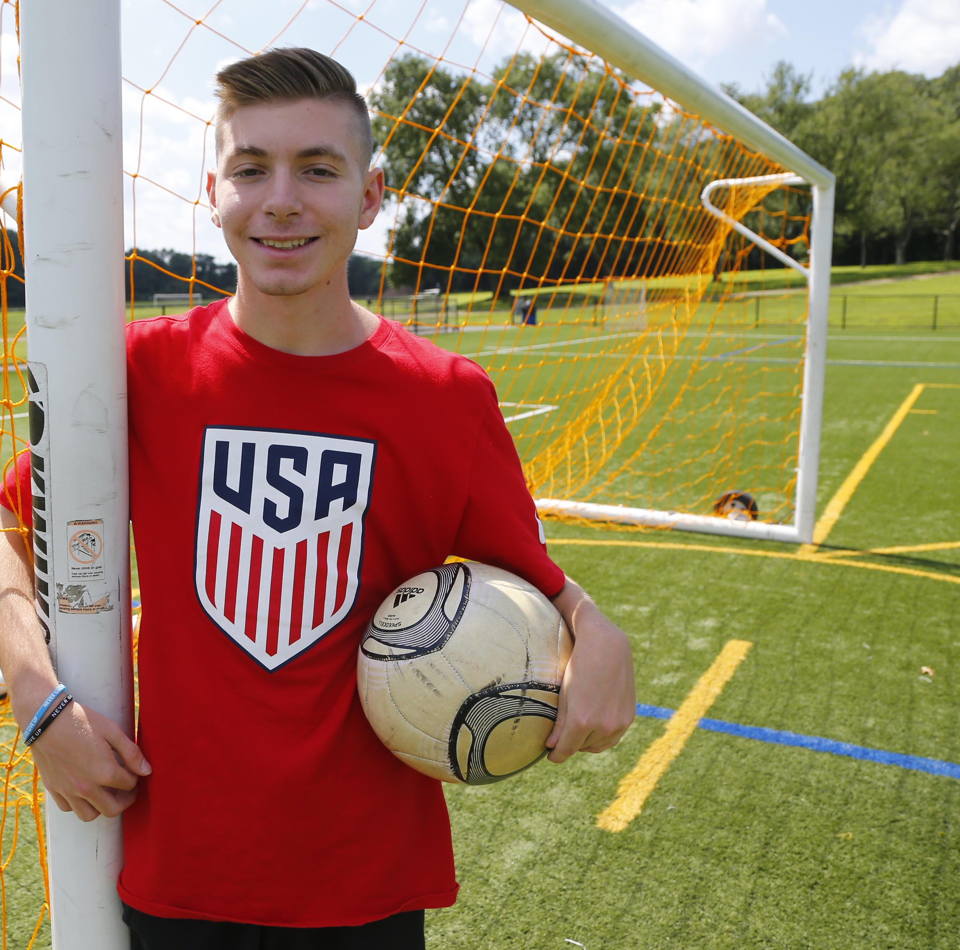 Overcoming cerebral palsy, Marlboro teen shines with U.S. Paralympic soccer team