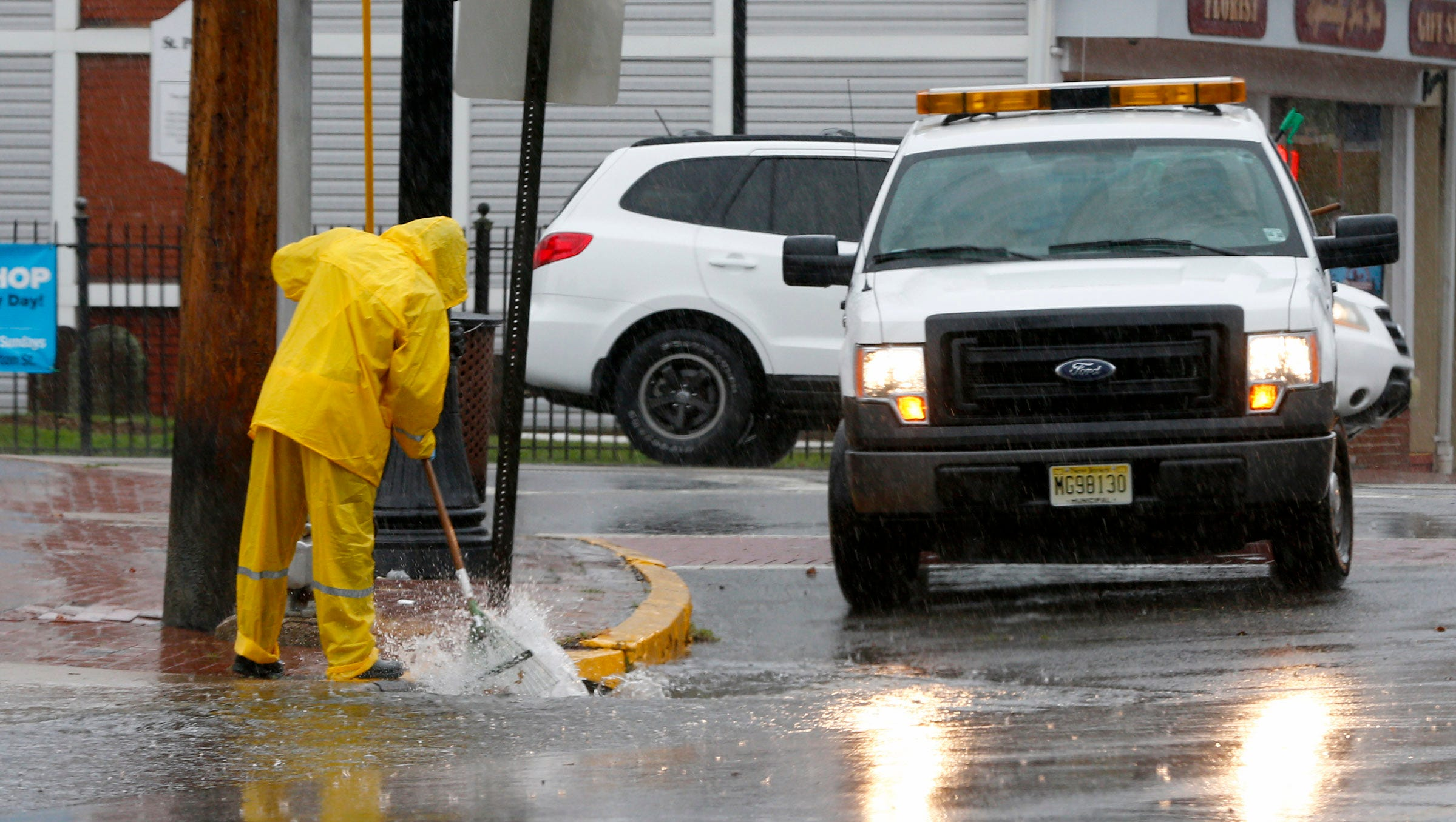 NJ Weather Thunderstorms bring waterspout widespread flooding to