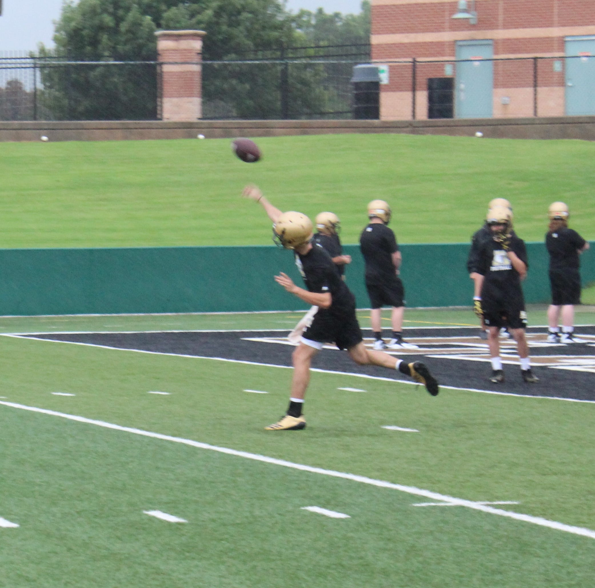 Abilene Eagles' first football practice rained out after productive start