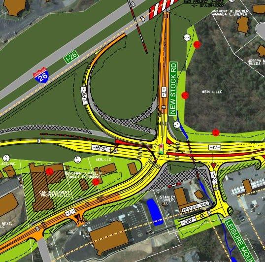 DOT plans changes to U.S. 19-23 interchange in Woodland Hills