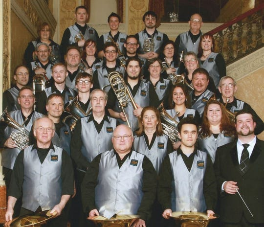 The Capital City Brass Band.