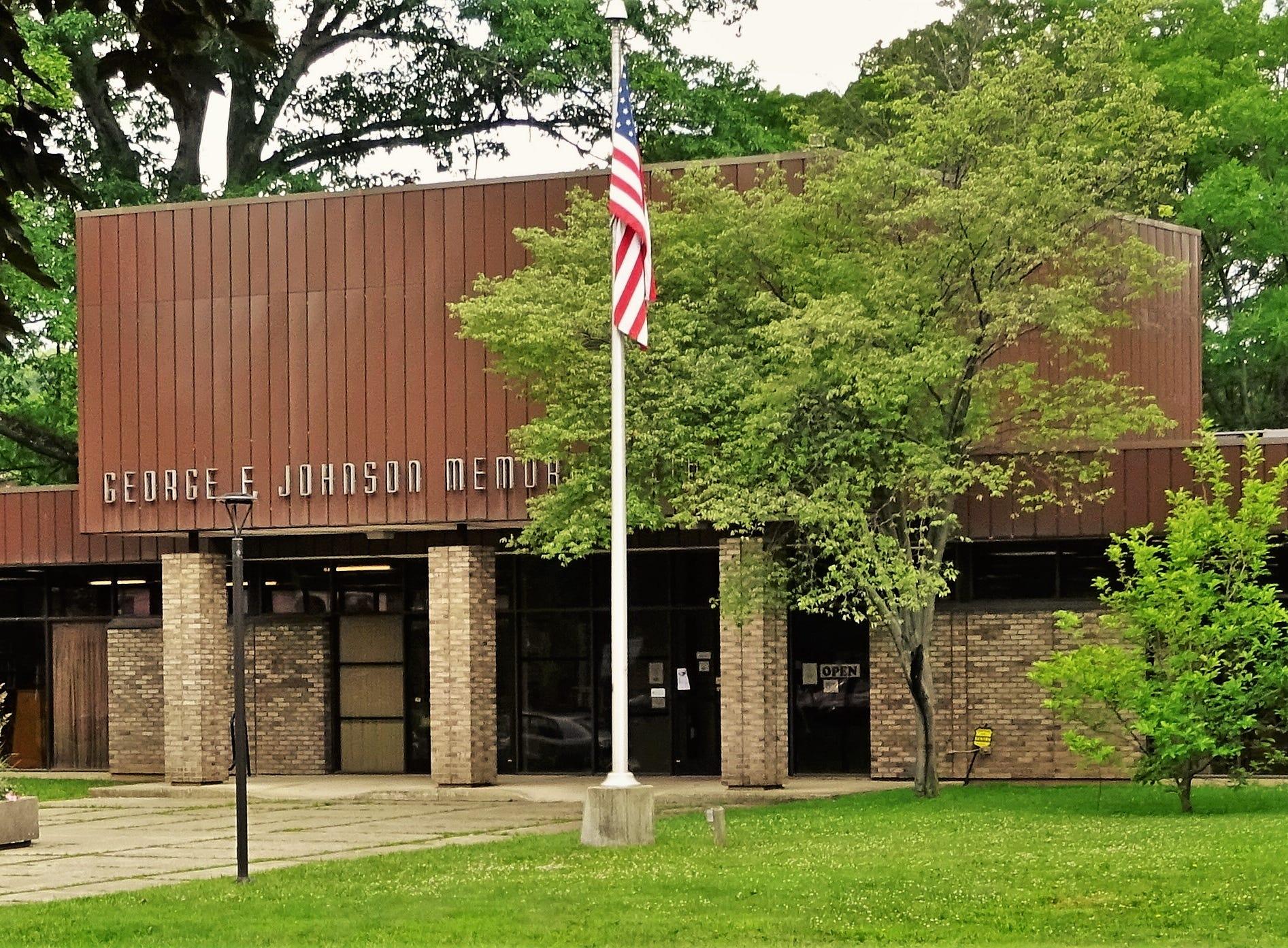 George F. Johnson Library, Endicott.