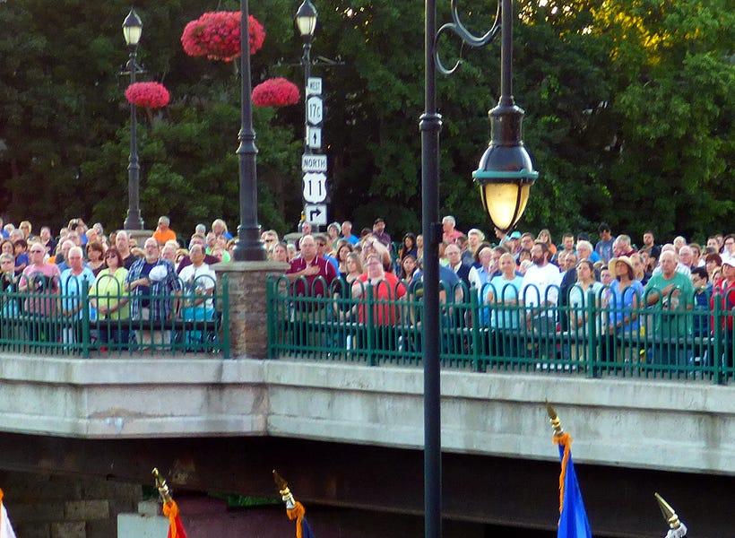 Pops on the River in Binghamton.