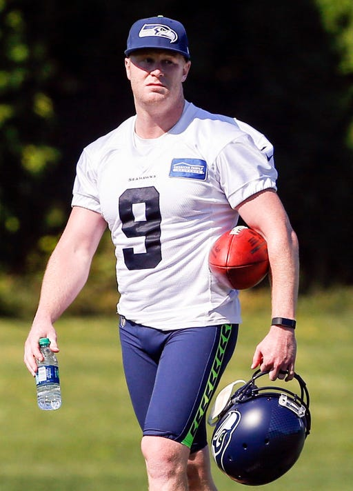 Nfl Seattle Seahawks Training Camp