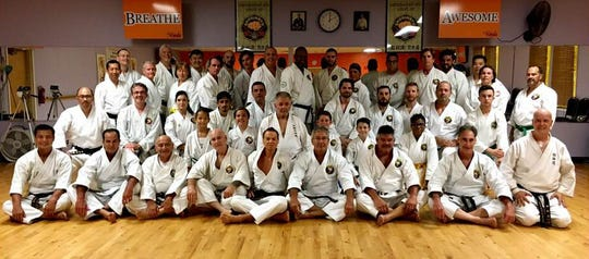 Sixty karate students from around the country and Canada attended Cocoa Beach Karate's 7thannual Soke Nagamine Memorial Karate event this weekend.