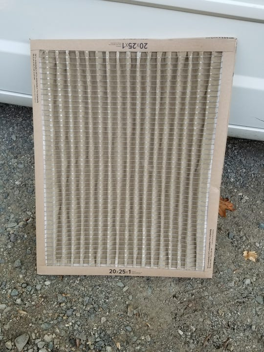 Susan Power changed her HEPA filter July 24. It's already in need of replacing.
