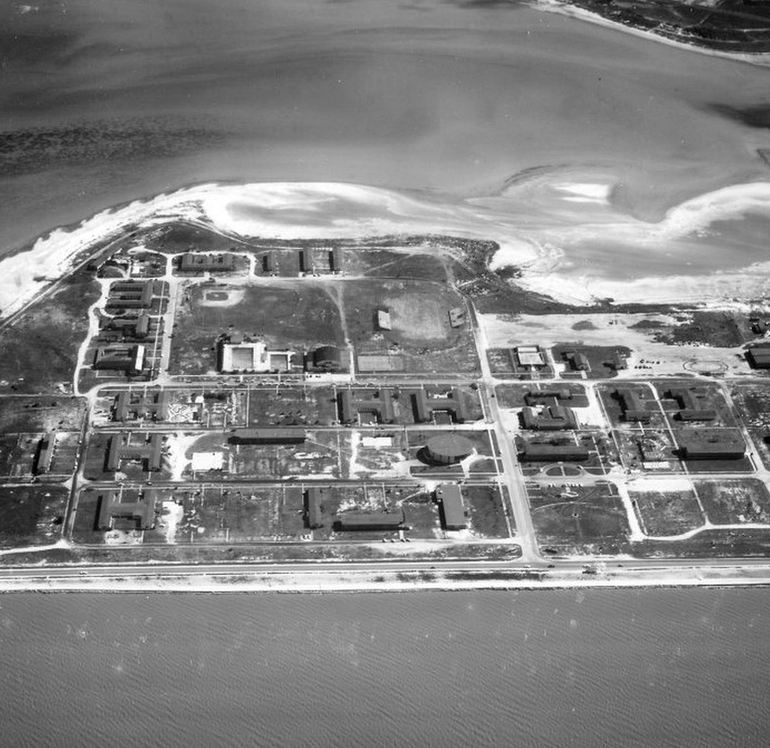 What was the big secret on John Ward's island?