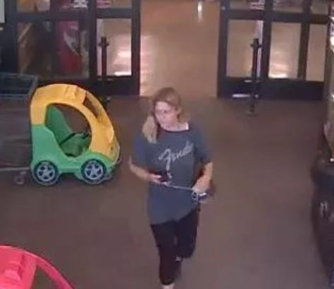 Police are searching for a woman suspected of breaking into cars at several parks in the Tristate and using stolen credit cards.