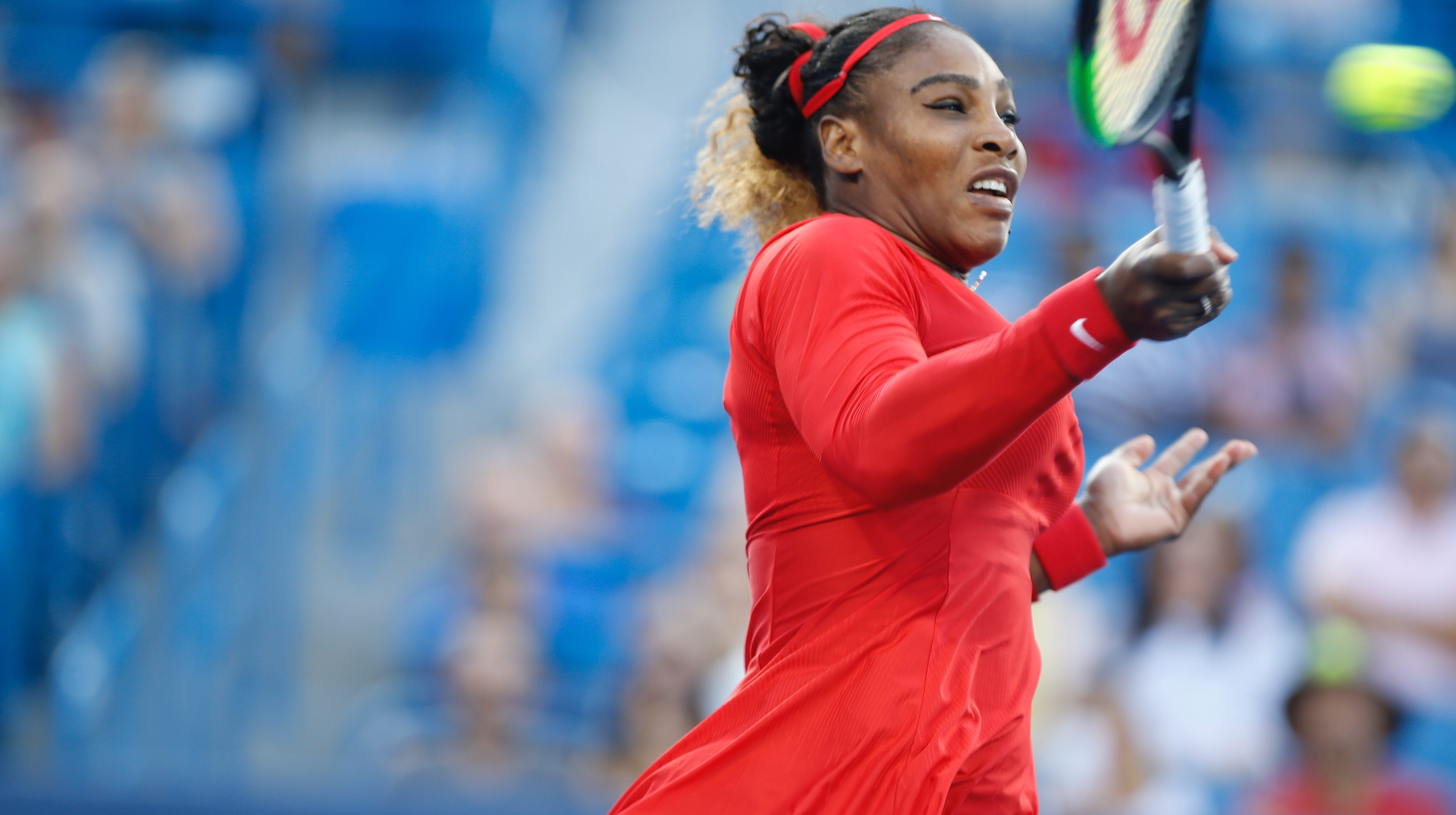 Serena Williams dominates in first round of Western & Southern Open