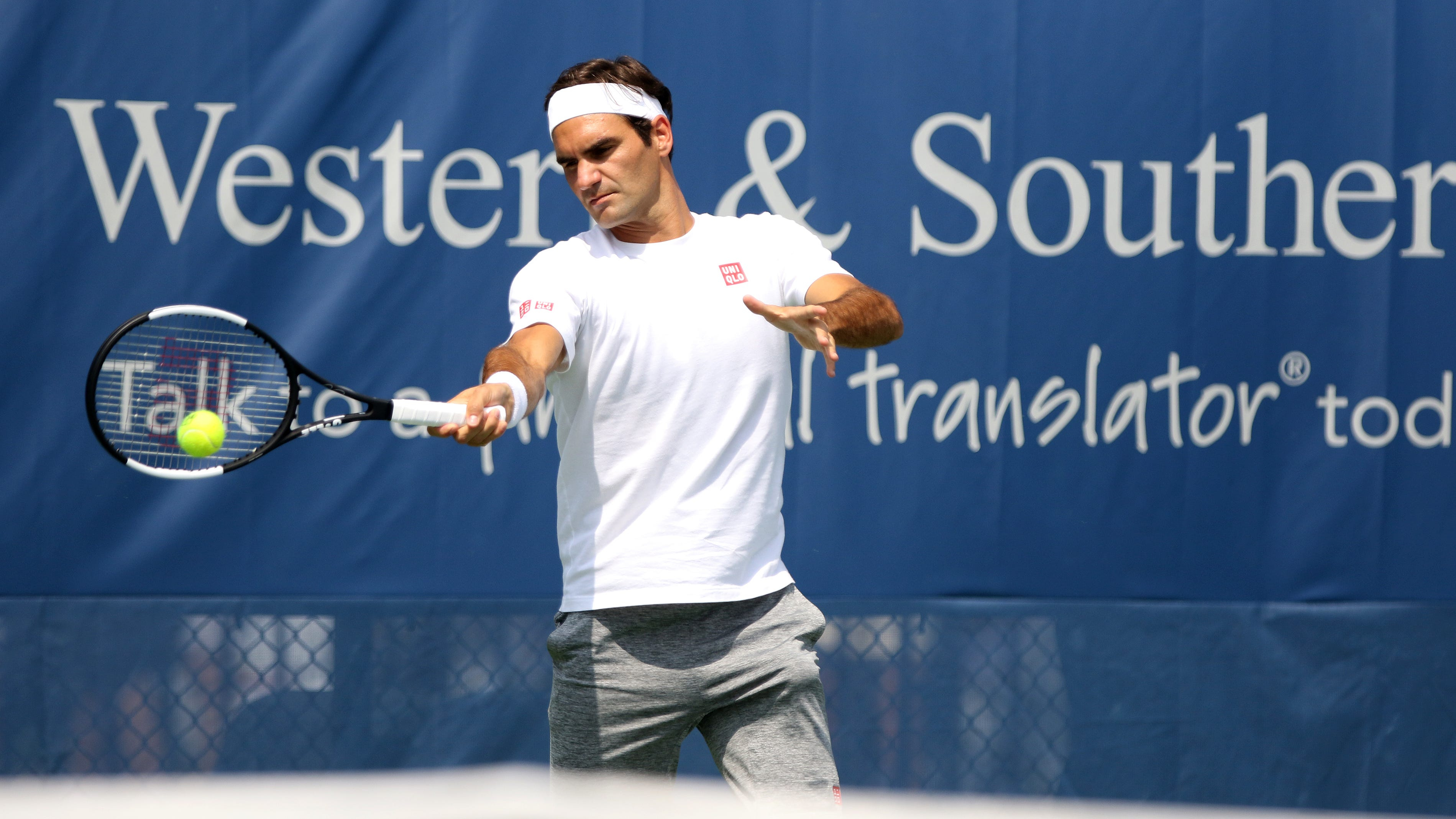 Live updates | Second round underway at Western & Southern Open, Serena Williams and Roger Federer set for an all-GOAT night session