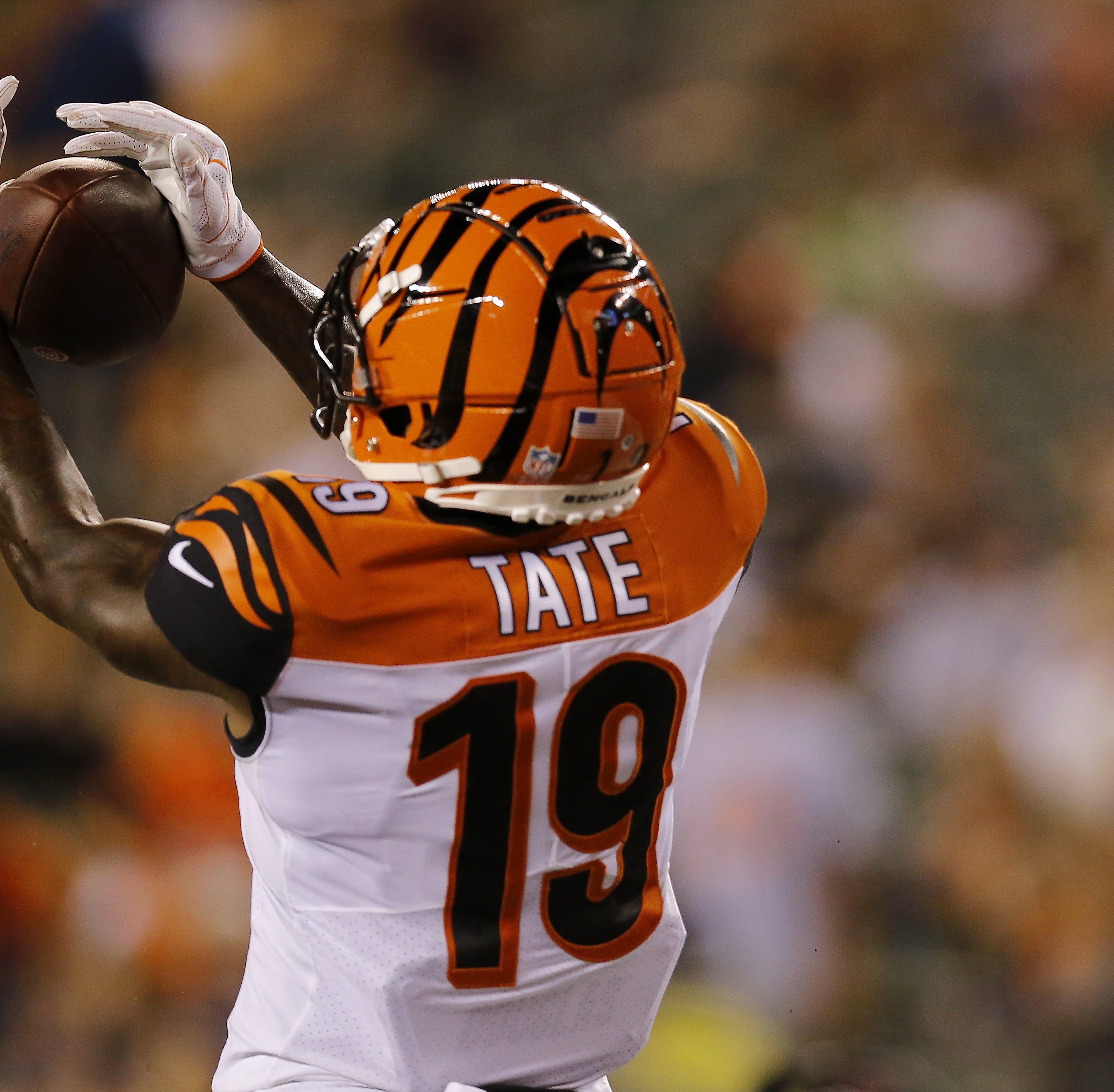 Cincinnati Bengals' rookie WR Auden Tate rising to catch a roster spot