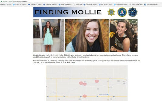 Screengrab Findingmollie