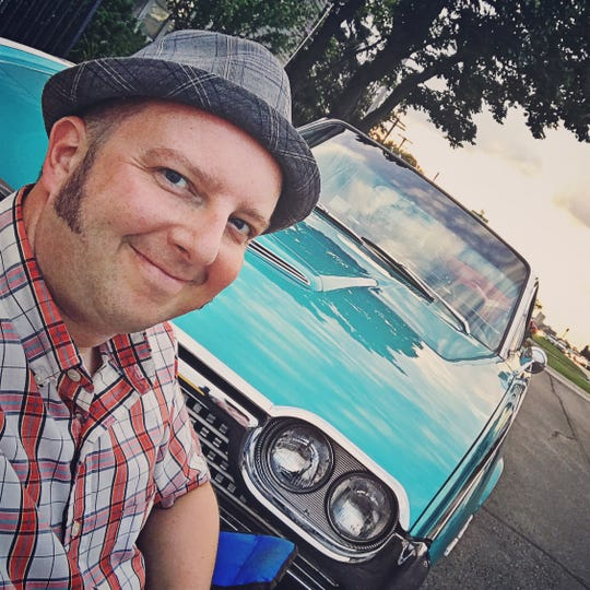 Hagerty creative media director Todd Kraemer and his 1962 Ford Thunderbird