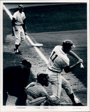 Bill Freehan's homer on Aug. 17, 1968, was a game-winner for the Tigers.