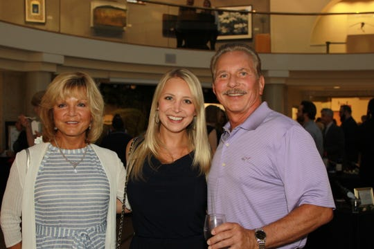 Sophie, Alyssa and Tom Hadrych.