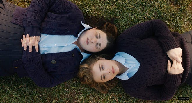"Melanie Ehrlich and Chloe Grace Moretz in ""The Miseducation of Cameron Post."""