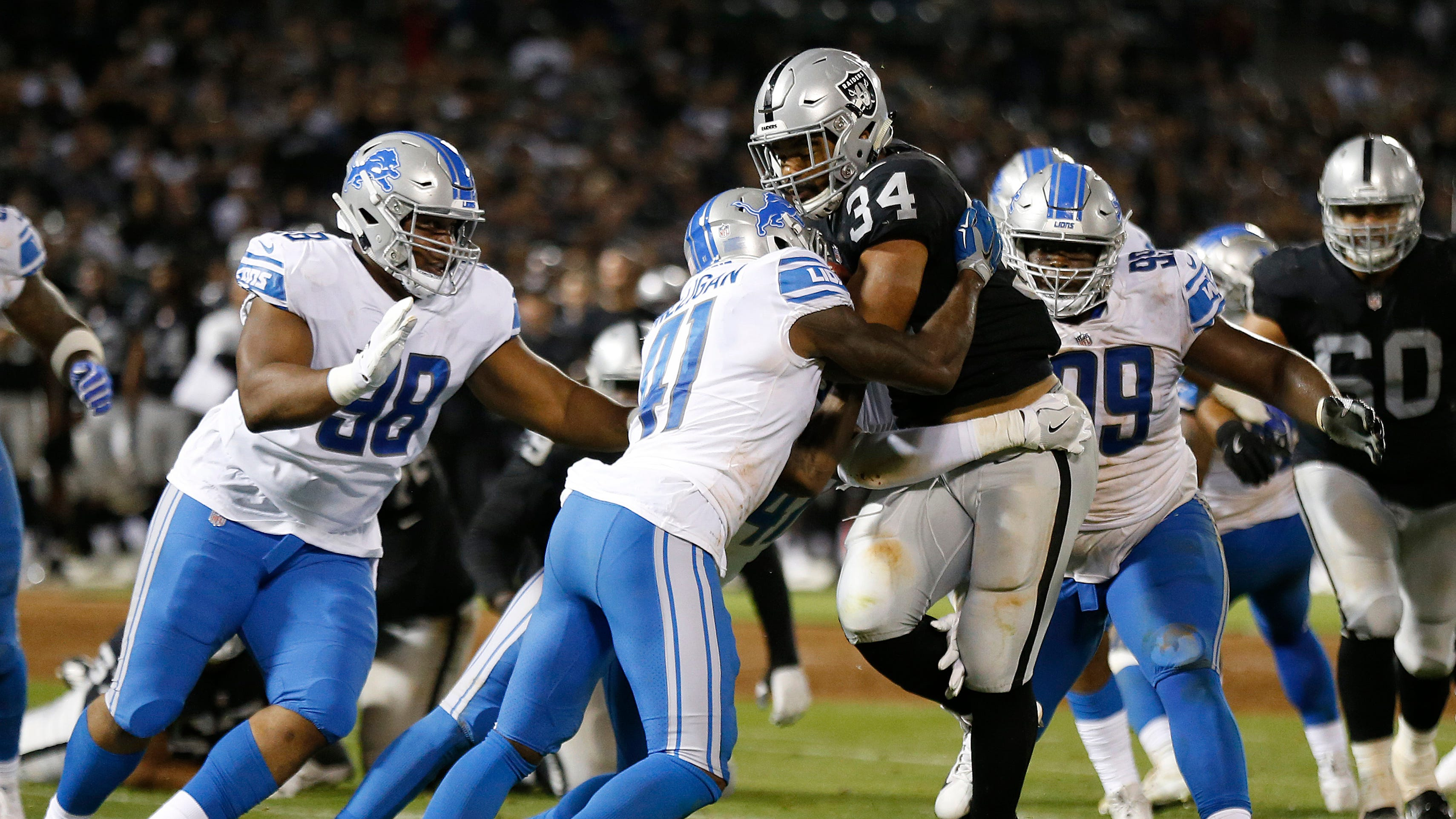 Lions focused on fixing sloppy run defense