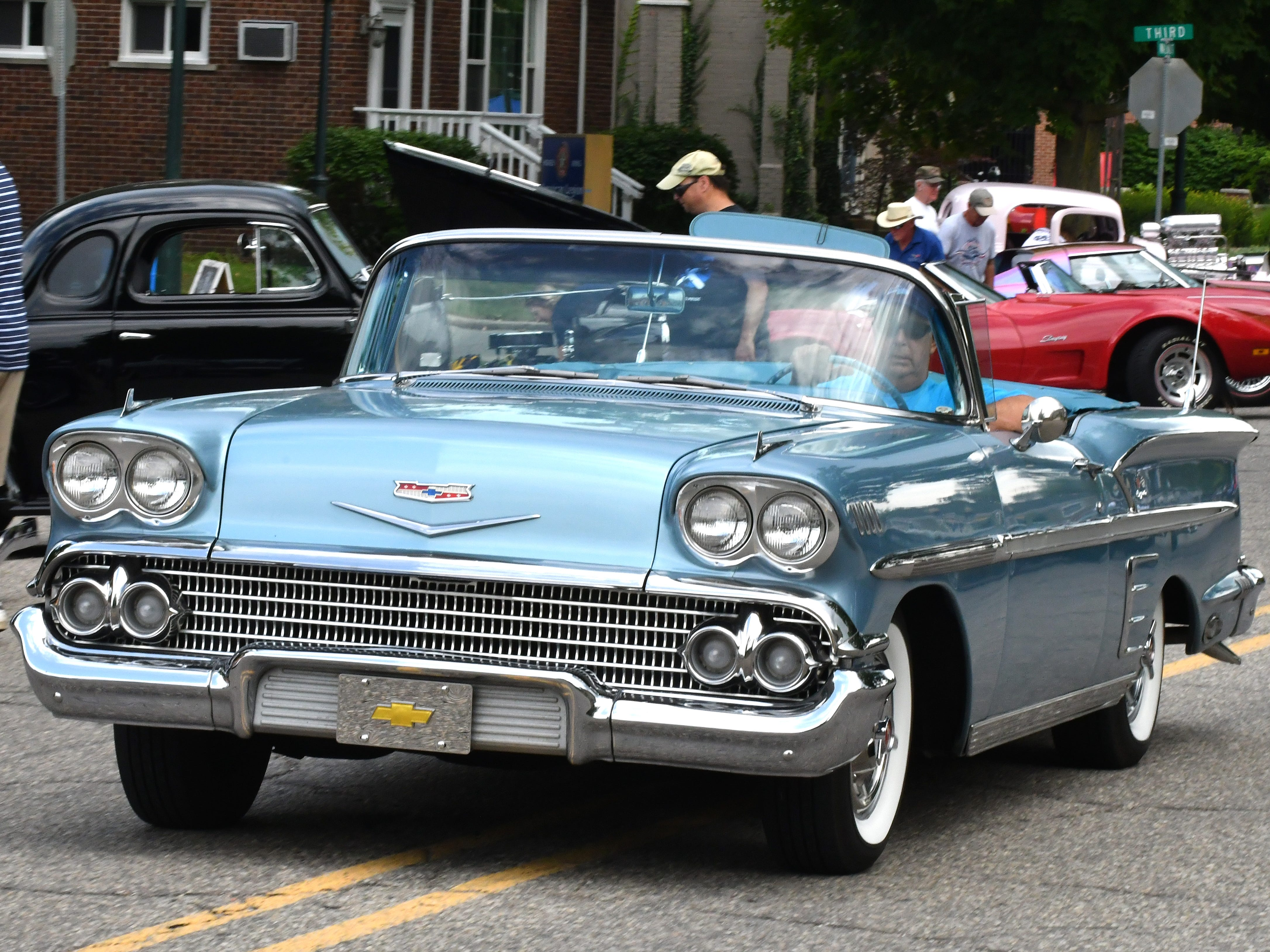 A 1958 Impala at the 19th annual Rockin Rods n' Rochester.