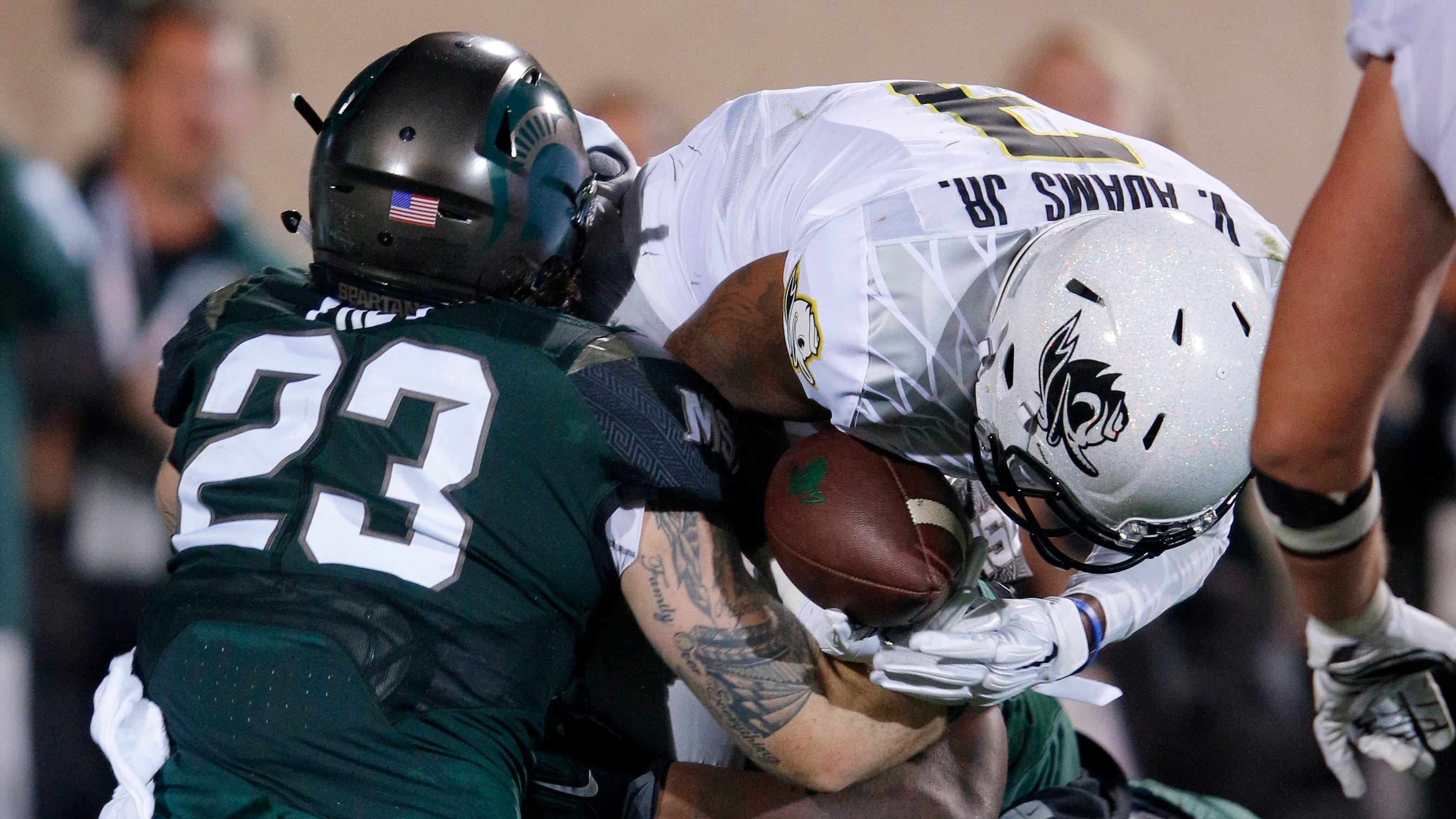 Michigan State and Oregon will square off at Spartan Stadium on Sept. 8, 2029, with Michigan State making the return trip to Autzen Stadium in Eugene, Ore., on Sept. 7, 2030.