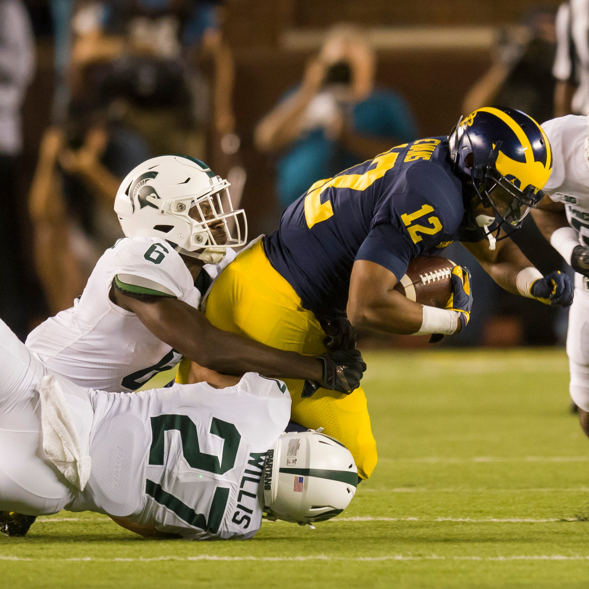Michigan State is No. 11, Michigan No. 14 in AP preseason poll
