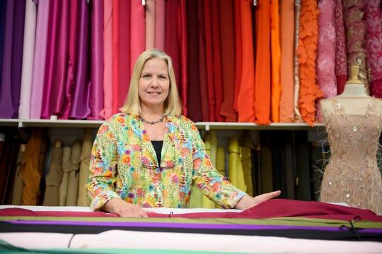 Patty Weir, owner of Haberman Fabrics in Clawson.