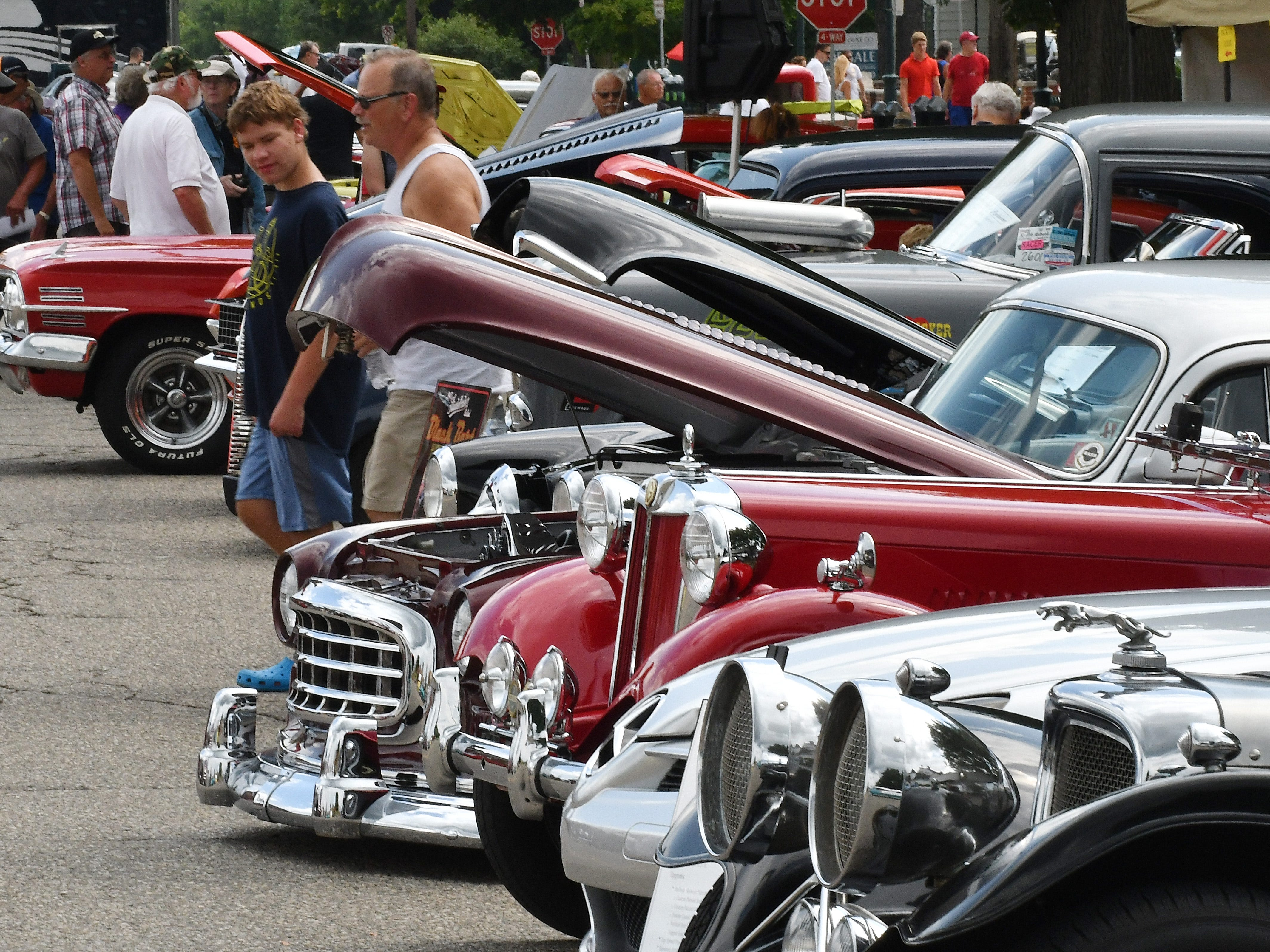 19th annual Rockin Rods n' Rochester.