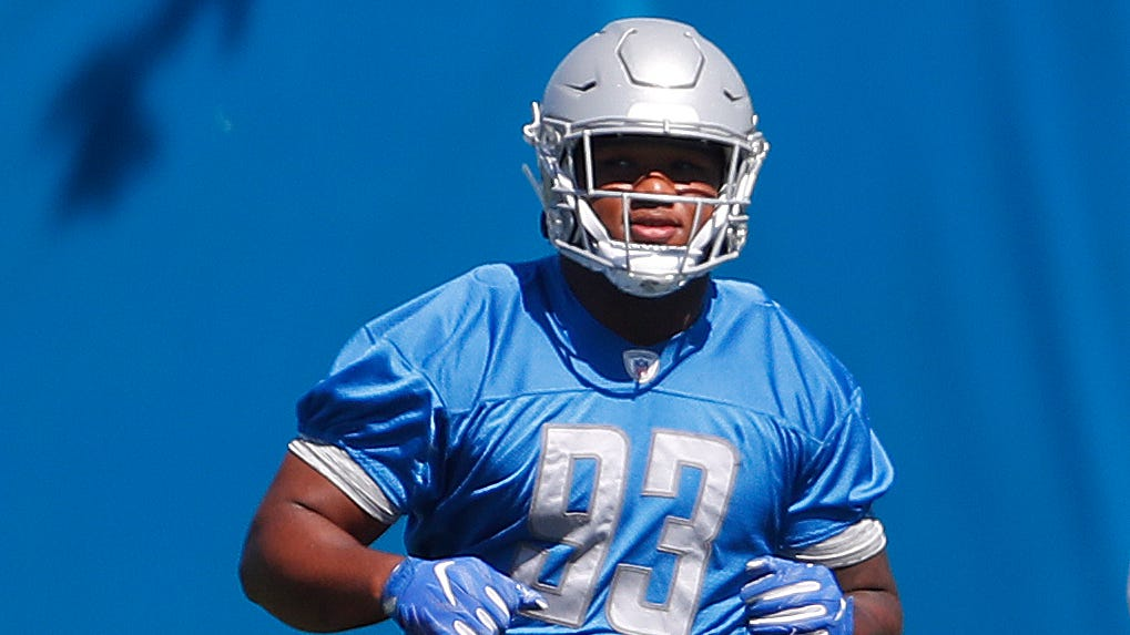 Hand shows big promise on Lions D-line