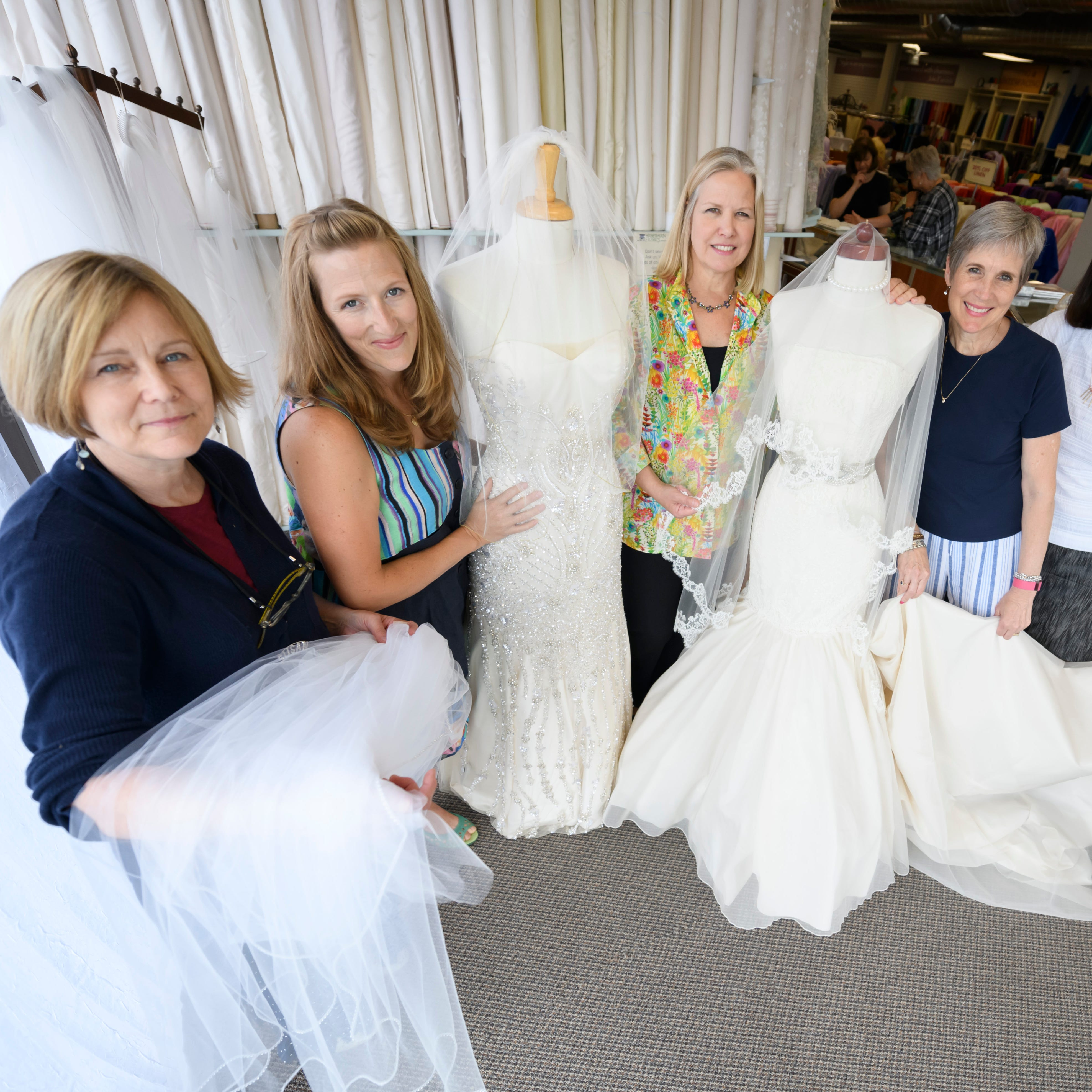 Handmade: Customers flock to new Haberman Fabrics shop