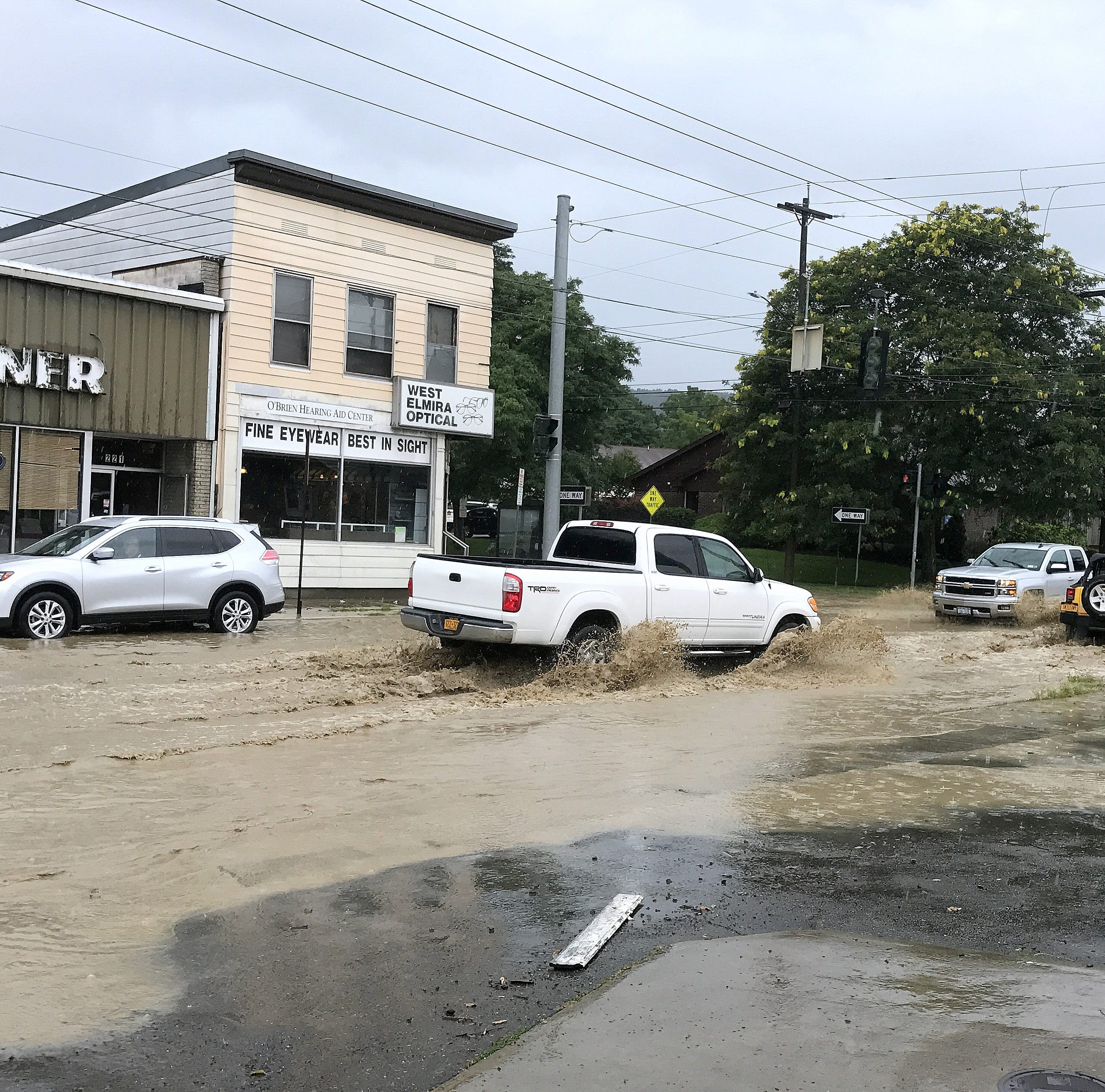 Flash flood warnings issued for parts of Twin Tiers