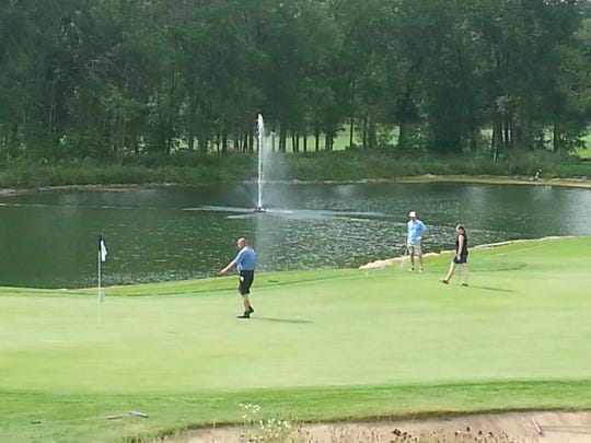 Fond du Lac's Whispering Springs Golf Club will have tee times from 9 a.m.-5 p.m. when it reopens with restrictions Friday.