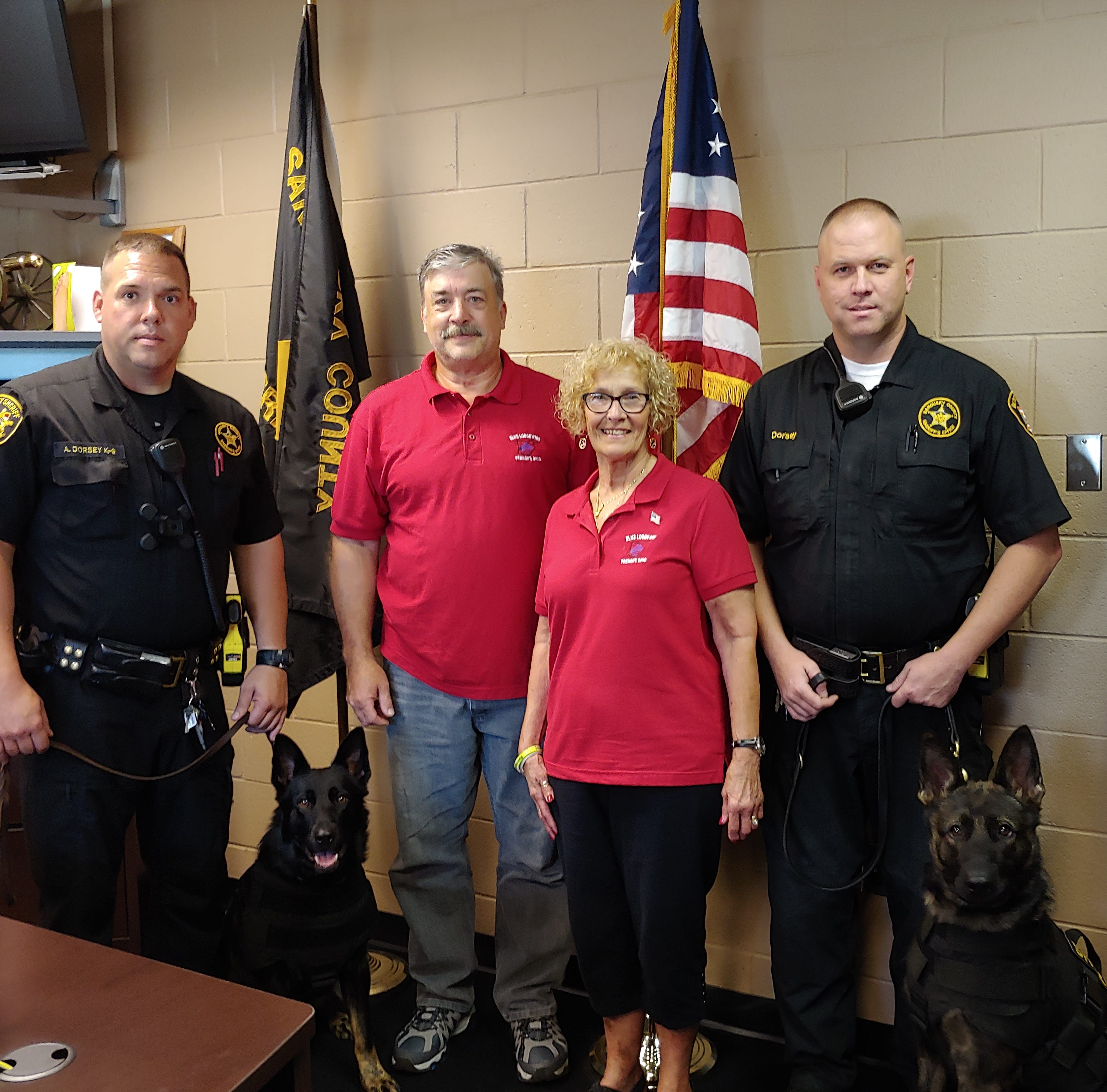 Community Roundup: Sheriff's Office receives K-9 vests from Elks